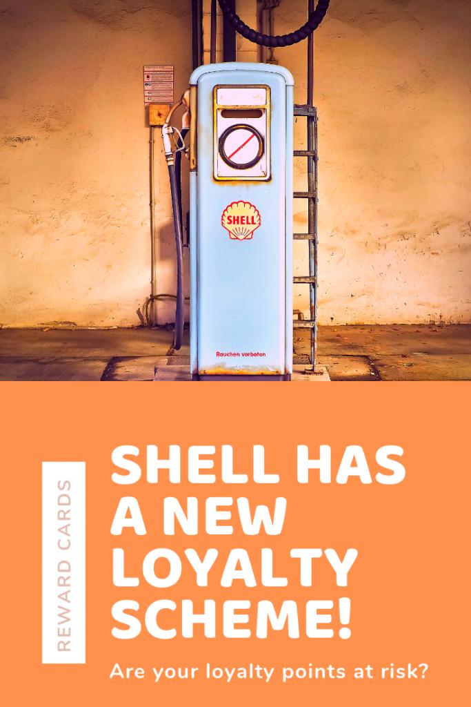 Shell fuel loyalty card