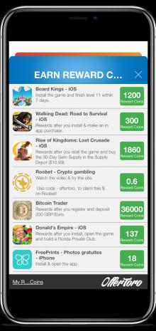 Reward Coins Offers